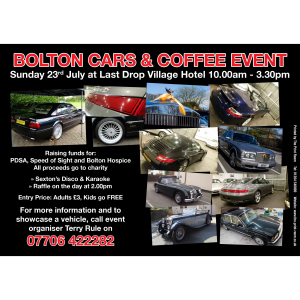 Bolton Cars and Coffee Event