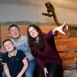 Friday Talk: Welsh dinosaurs family talk