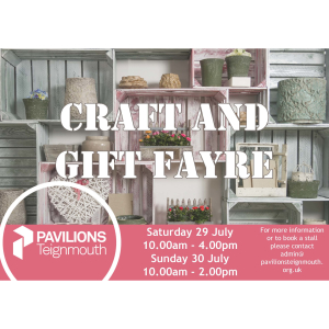 CRAFT & GIFT FAYRE - Pavilions Teignmouth