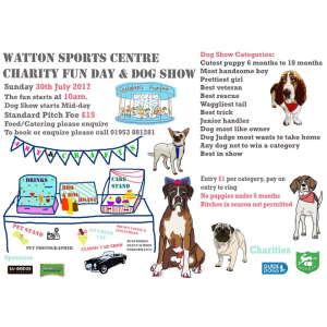 Charity Fun Day, Dog Show & Classic Cars