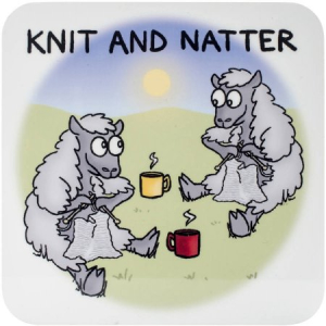 Knitt and Natter coffee morning and wool sale.