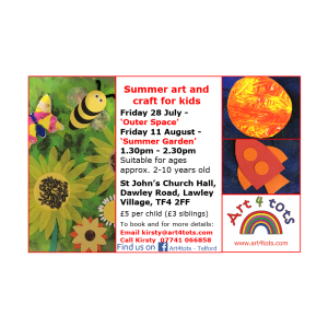 Art and craft for kids - 'Summer Garden'