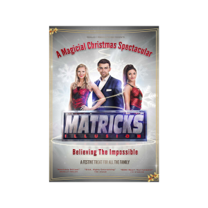 McMillan Theatre: Matricks: Believing the Impossible, The Christmas Show