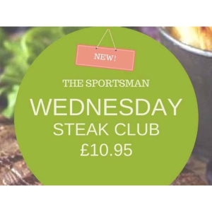 Join the Steak Club at The Sportsman #Mogador @TimeWell_Spent