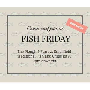 Fish Friday – The Plough And Furrow, #Smallfield @TimeWell_Spent