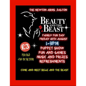 Beauty and the Beast Family Fun Day