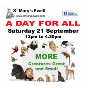 A Day For All at St Marys #Ewell