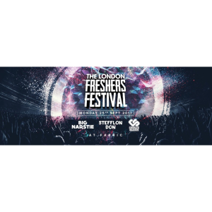 THE 2017 LONDON FRESHERS FESTIVAL // FABRIC - Big Narstie, Stefflon Don & Charlie Sloth!