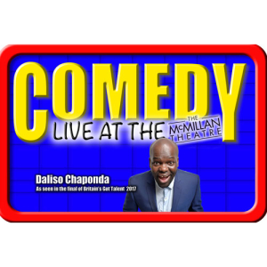 Comedy Live at the McMillan with Daliso Chaponda