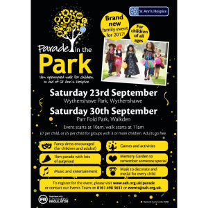 Parade in The Park - Wythenshawe