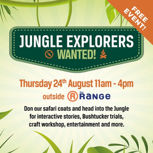 Jungle Explorers Wanted!