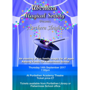 Aberdeen Magical Society presents… Northern Sleights