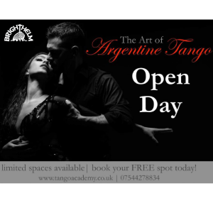 Brighthelm Centre - Free Open day: Argentine Tango Immersion