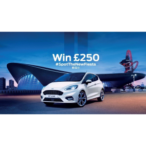 #SpotTheNewFiesta Competition