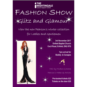 Glitz & Glamour Fashion Show - In aid of The Nightingale