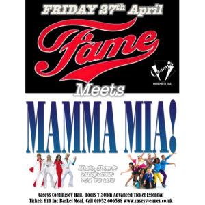 Fame Meets Mamma Mia! (70s/80s Party Night)