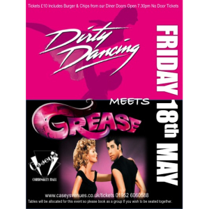 Grease Meets Dirty Dancing Party night