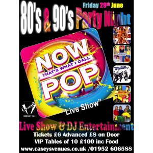80/90/00's Party night