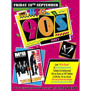 The Big 90's Party Night