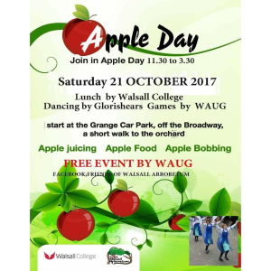Apple Day in Walsall Arboretum