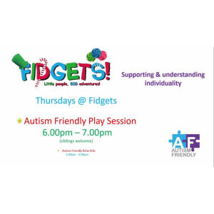 Autism Friendly Sessions at Fidgets Soft Play Centre