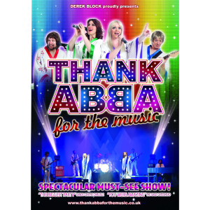 Thank ABBA For the Music: ABBA Tribute Band Live in Shrewsbury