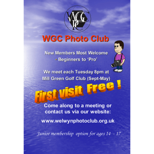 Welwyn Garden City Photographic Club