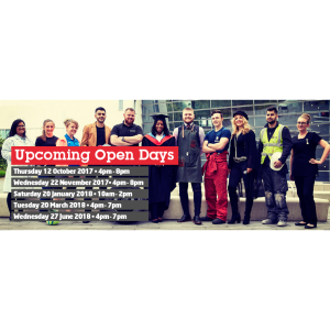 Walsall College November Open Day