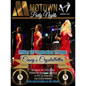 Casey's Crystallettes Motown Live