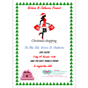 Christmas Shopping Charity Event
