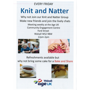 Knit and Natter Group