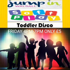 Toddler Disco Time at Jump In Walsall