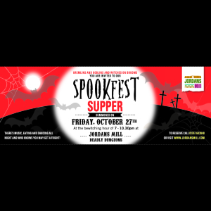 Spookfest Supper at Jordans Mill