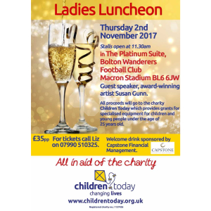 Children Today: Ladies Lunch Bolton