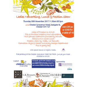 Children Today: Ladies Lunch & Fashion Show