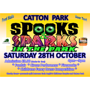 Spooks & Sparks in the Park