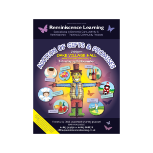 Reminiscence Learning: Auction of gifts & promises