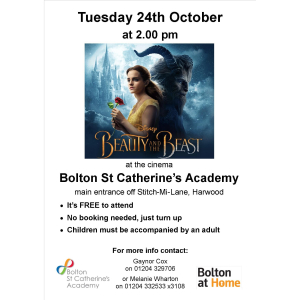 Beauty and the Beast at Bolton St Catherine's Academy
