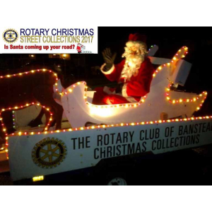 Rotary Christmas Street Collections in #Banstead @bansteadrotary @bansteadhighst #Christmas
