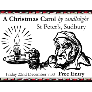 A Christmas Carol, by candlelight