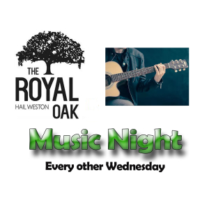 Music Night at The Royal Oak Hail Weston