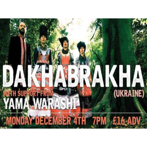 DakhaBrakha with support from Yama Warashi