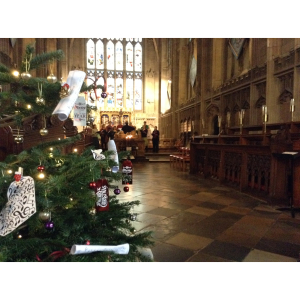 St Mary's Church, Warwick - Christmas Tree Festival -2017