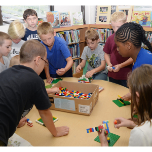 Lego Club at Whitworth Library every Saturday Morning