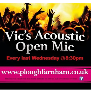 Vic's Acoustic Open Mic