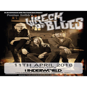Pontus Snibb's Wreck of Blues at The Underworld Camden