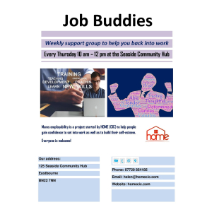 Job Buddies (part of the Mums Employability Project)