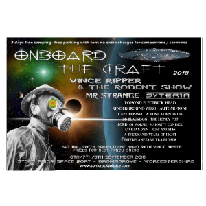 Onboard the Craft 2018