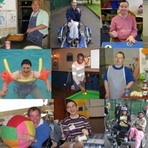 The Bridge Outreach daytime support to adults aged 18 & over who have a learning disability.