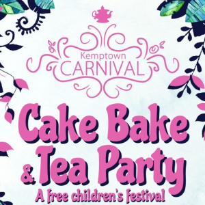 Great Kemptown Carnival Cake Bake and Tea Party